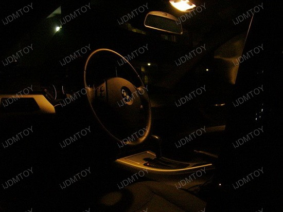 2006 - bmw - e90 - 325i - led - interior - lights - 1