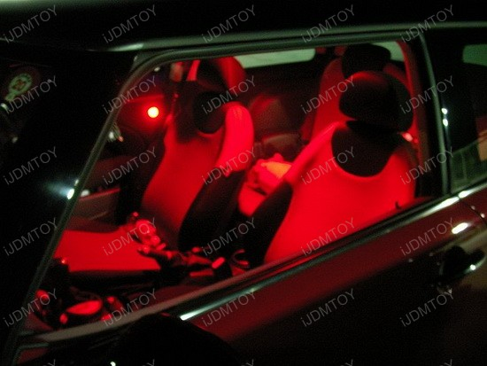 2005 - mini - cooper - led - interior - lights - 2