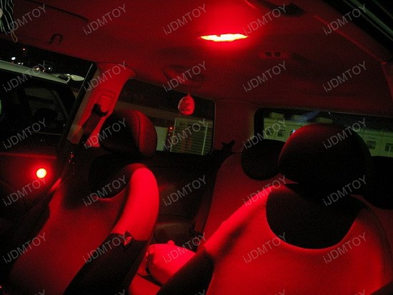 2005 - mini - cooper - led - interior - lights - 3