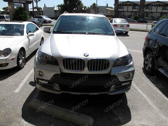 2010 - bmw - x5 - led - daytime - running - lights - drl - 1
