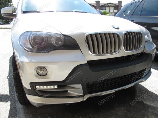 2010 - bmw - x5 - led - daytime - running - lights - drl - 2