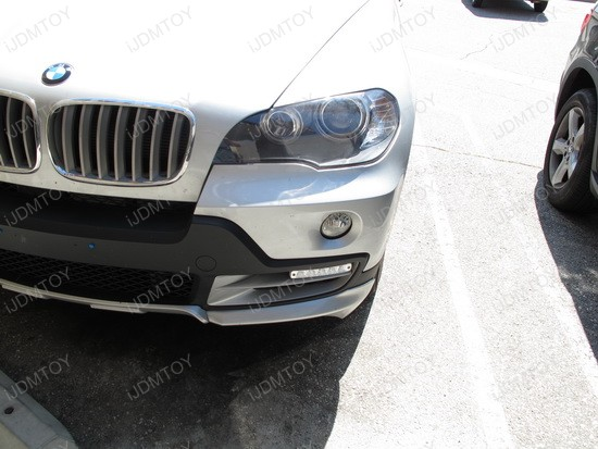 2010 - bmw - x5 - led - daytime - running - lights - drl - 3