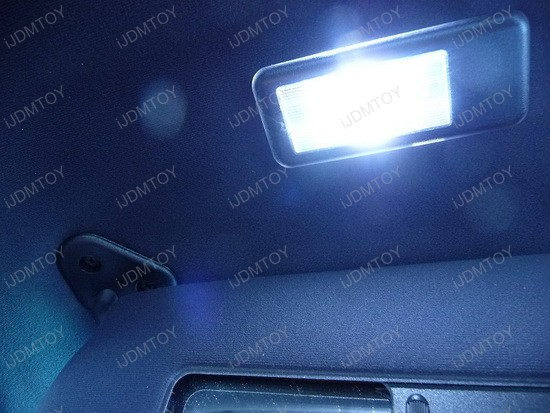 bmw - 330i - coupe - led - interior - dome - lights - 6