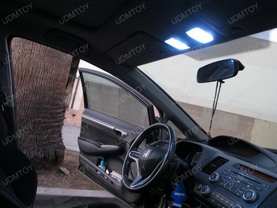 2009 - honda - civic - si - led - interior - dome - lights - 1