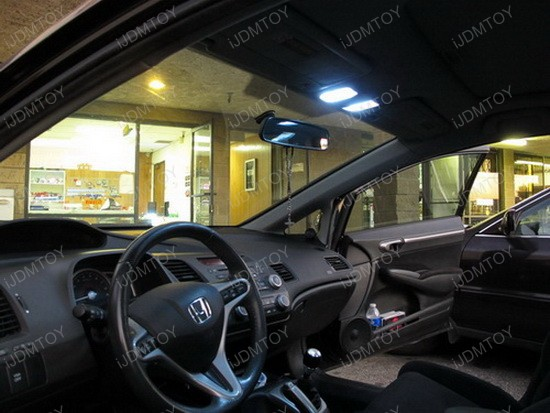 2009 - honda - civic - si - led - interior - dome - lights - 2