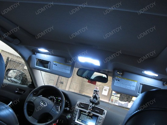 2008 - lexus - is250 - led - dome - lights - interior - package - 2