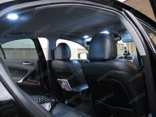 2008 - lexus - is250 - led - dome - lights - interior - package - 5