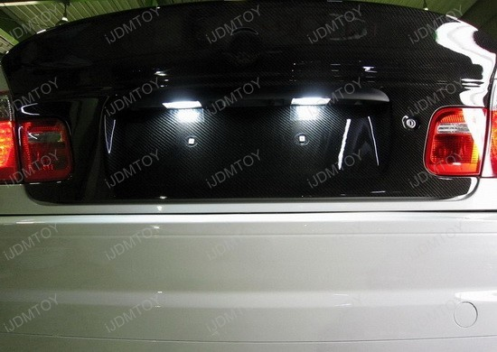 bmw - m3 - csl - led - license - plate - lights - 1