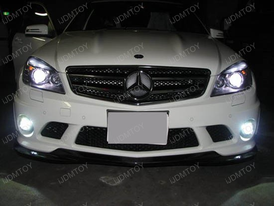 2009 - mercedes - benz - c63 - amg - w204 - eyelid - led - error - free - 1
