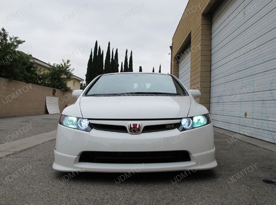 diy - led - daytime - running - lights - drl - civic - 7