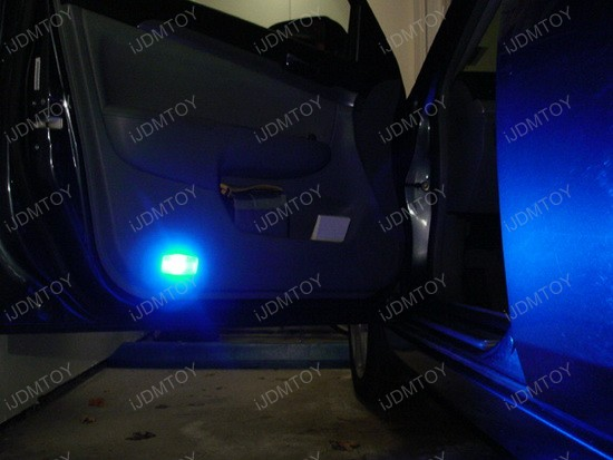2005 - honda - accord - blue - led - door - lights - 1