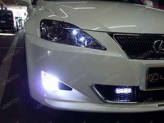 2007 - lexus - is350 - led - daytime - running - lights - drl - 1
