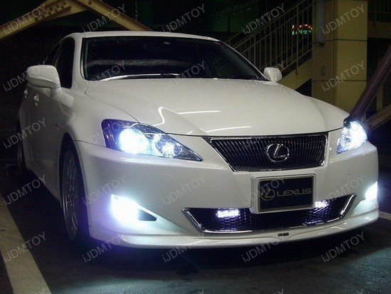 2007 - lexus - is350 - led - daytime - running - lights - drl - 2