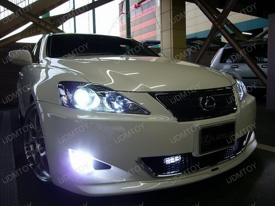 2007 - lexus - is350 - led - daytime - running - lights - drl - 3
