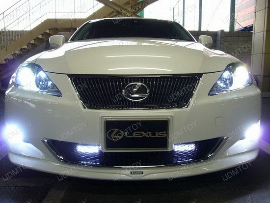 2007 - lexus - is350 - led - daytime - running - lights - drl - 4