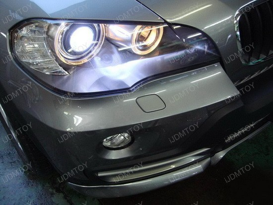 2008 - bmw - x5 - angel - eyes - headlights - 1