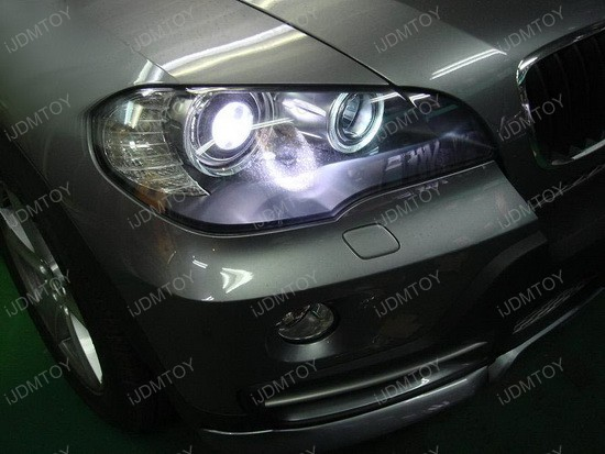 2008 - bmw - x5 - angel - eyes - headlights - 2