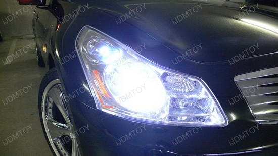 2007 - infiniti - g35 - 168 - led bulbs - parking - lights - 3