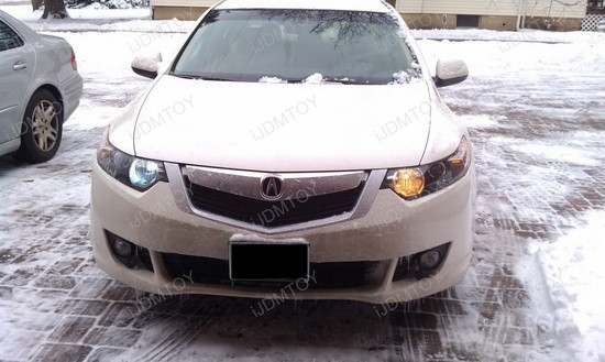 2009 - acura - tsx - 9005 - led - daytime - running - lights - 2