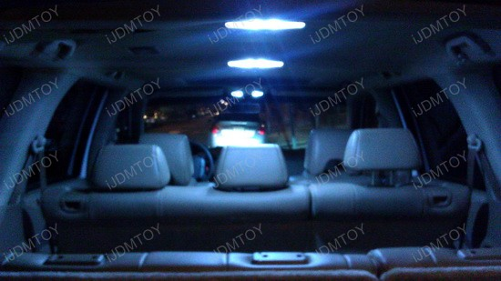 2005 - honda - pilot - dome - interior - lights - 3