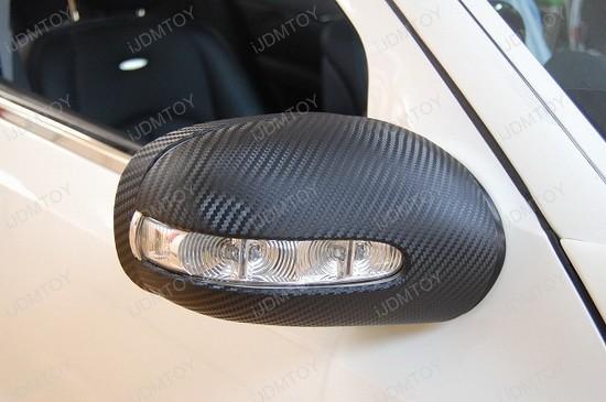 2005 - mercedes - benz - e320 - carbon - fiber - vinyl - sheet - 2
