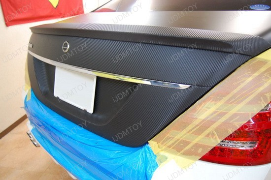 2005 - mercedes - benz - e320 - carbon - fiber - vinyl - sheet - 6