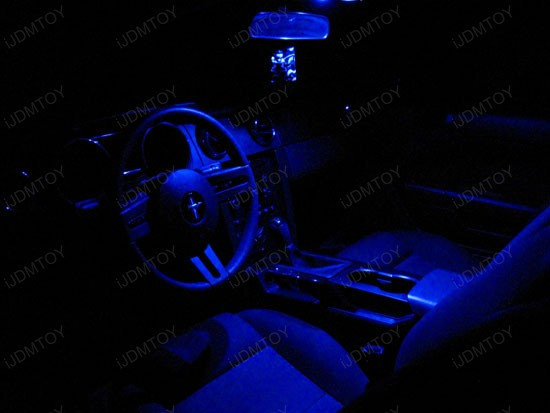 ford - mustang - led - interior - lights - 1