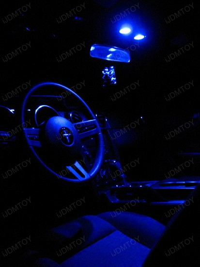 ford - mustang - led - interior - lights - 2