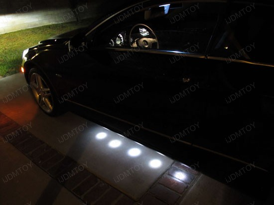 2011 And Up Cayenne Led License Plate Light Conversion