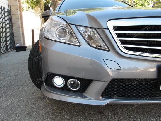 2011 Mercedes E350 gets Super Bright LED DRL   iJDMTOY Blog