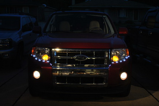 What About Led Strip Lights For 2009 Ford Escape Ijdmtoy
