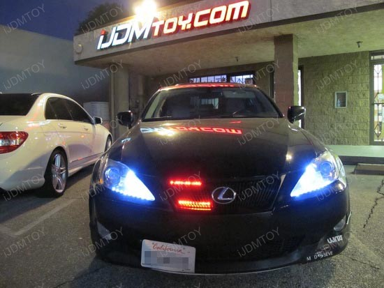 Led Knight Rider Lights on Lexus Remote Control Battery