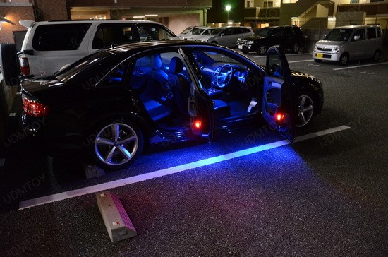 Audi LED Interior Package 4