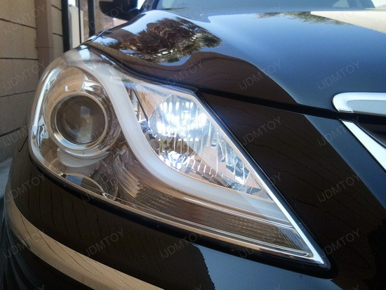 Hyundai H7 LED Daytime Running Light Bulbs