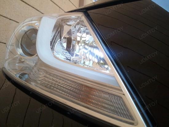 2011 Hyundai Genesis with Crystal Clear LED Headlights  iJDMTOY