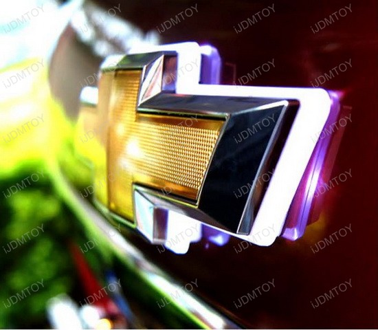 How To Install Hood Emblem Background LED Light Kit For
