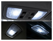 Car LED Interior Dome Map Lights Installation