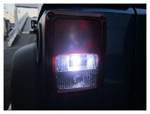 LED Backup Reverse Light Installation