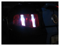 LED Backup Reverse Lights Installation (Base on a Ford Mustang)
