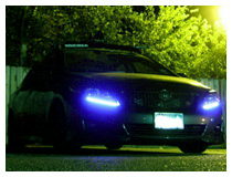 Audi Style LED Strip Lights Installation Guide