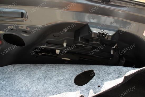 Honda Civic LED License Plate Lights Installation 4