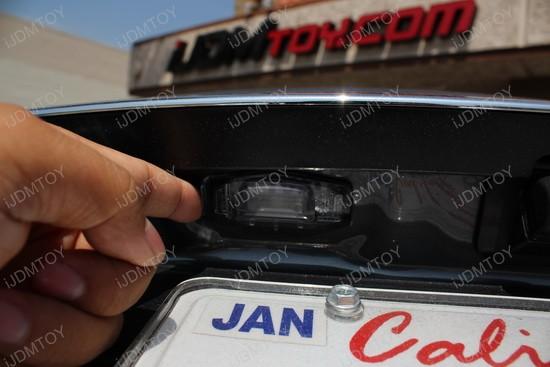 Exact Fit Honda Civic Led License Plate Lights
