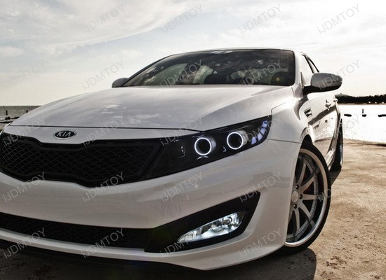 Kia Optima LED Fog Lights 7