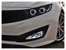 Kia Optima Install H11 (aka H8) LED Fog Lights