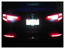LED Backup Reverse Lights Installation (Base on a Kia Optima)