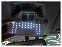 How to install LED Interior Map Dome Lights