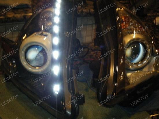 Nissan 370z LED Emitter Lights For Headlights 8