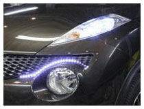 Audi Style LED Strip Lights Installation (Base on a Nissan Juke)