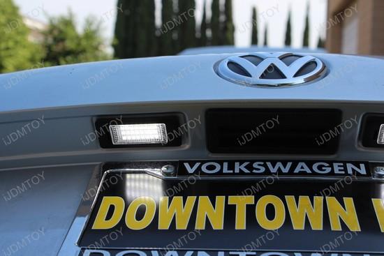 Volkswagen Passat LED License Plate Lights 6