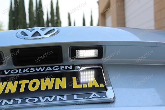 Volkswagen Passat LED License Plate Lights 8